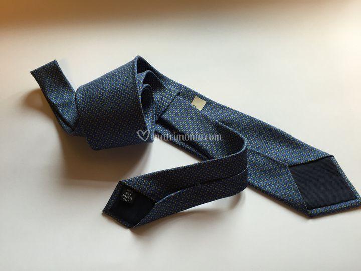 Cravatta handmade 100% seta