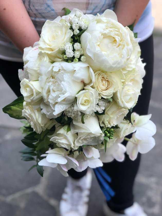 Bouquet Sposa Total White.Bouquet Sposa Total White Di Momenti D Amore Foto 8
