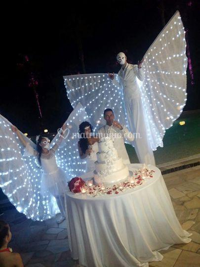 Farfalle Luminose per Torta