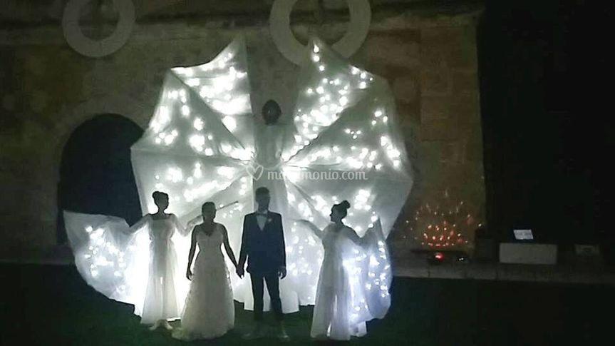 Farfalle Luminose Matrimoni