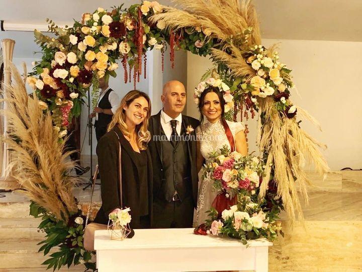 Celebrante matrimonio civile