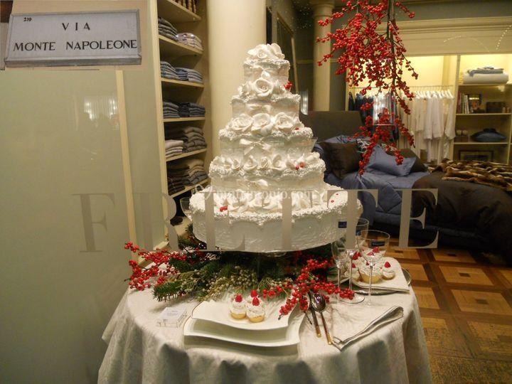 Torte finte frette milano monte napoleone di torte finte for Frette milano