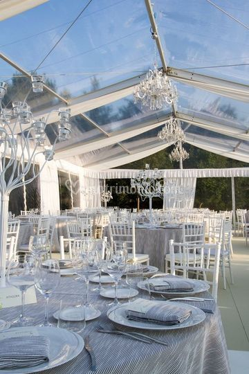Tensostruttura wedding just