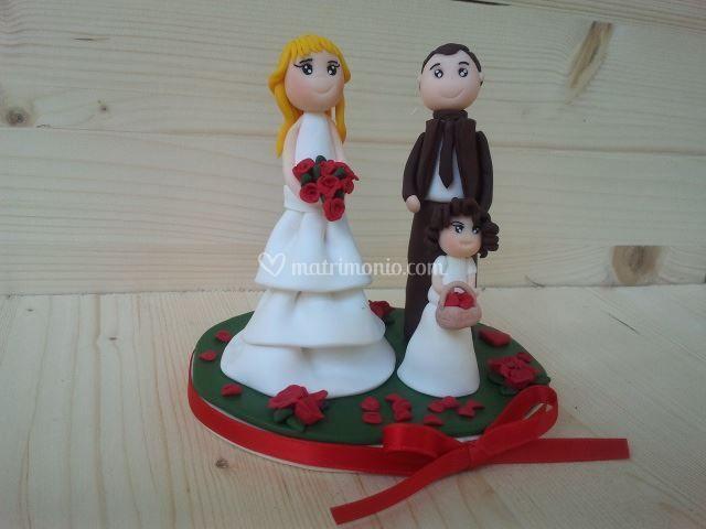Bomboniera/cake topper