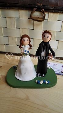 Cake topper rugby