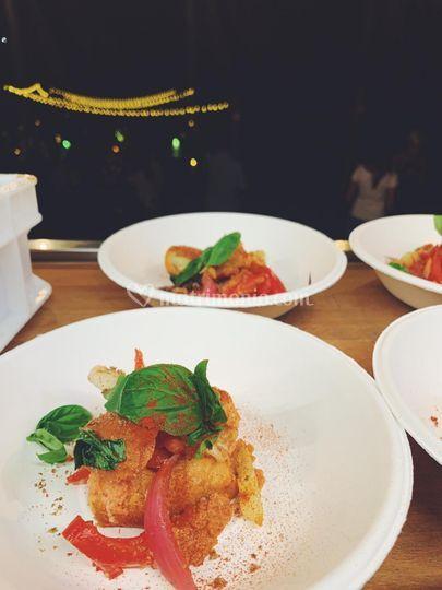 "Proposta food ""panzanella"""