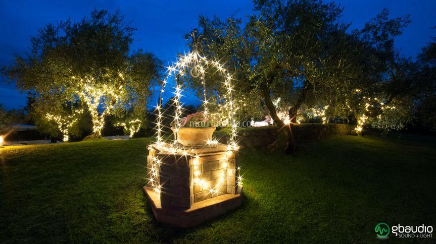 Illuminazione con Fairy Lights