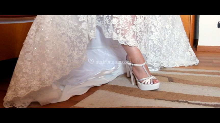 Frame froma wedding video