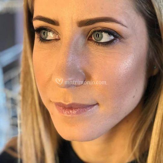 Prove make-up sposa