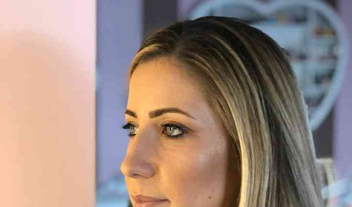 Make-up nude look oro e bronzo