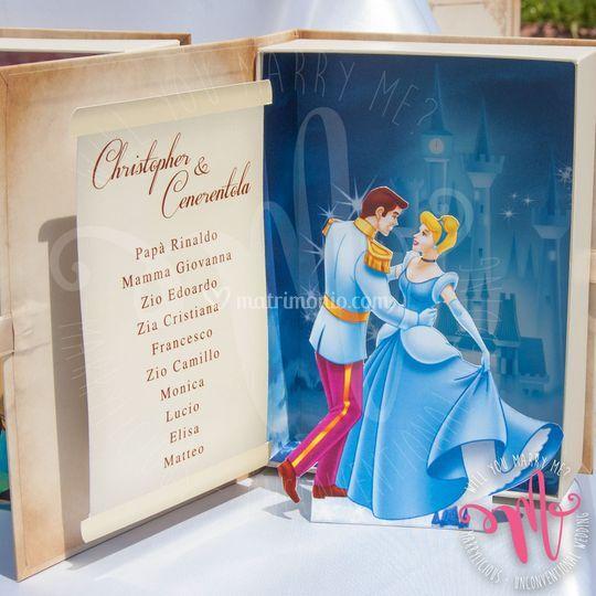 Tableau de Mariage Disney