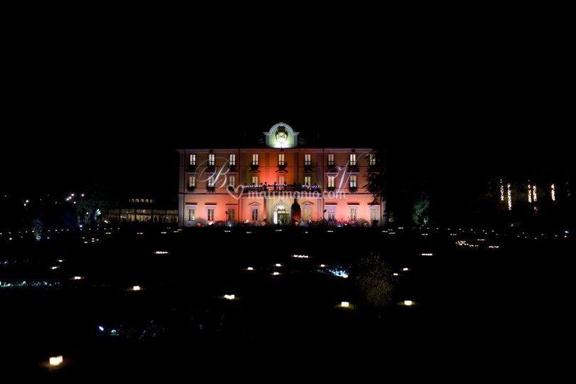 Villa Acquaroli e le candele