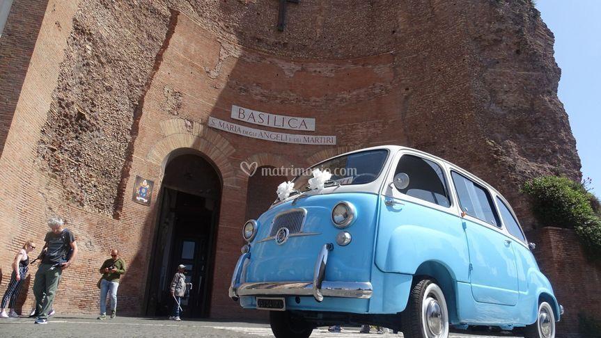 Fiat 600 Multipla anni 50
