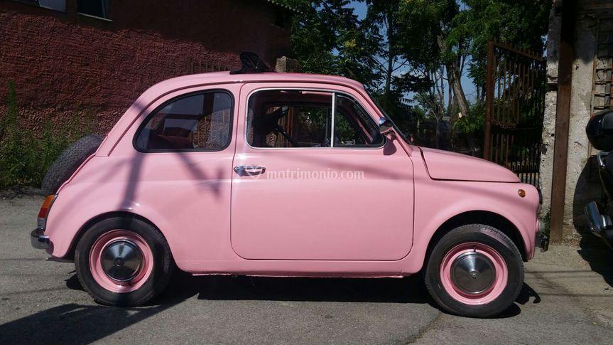 Fiat 500 Pink originaldel 1970