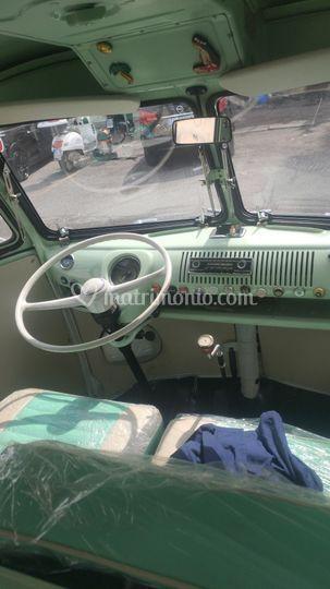 Interni cabina VW T1 1967