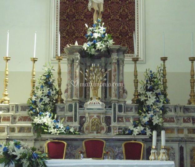 Addobbo chiesa
