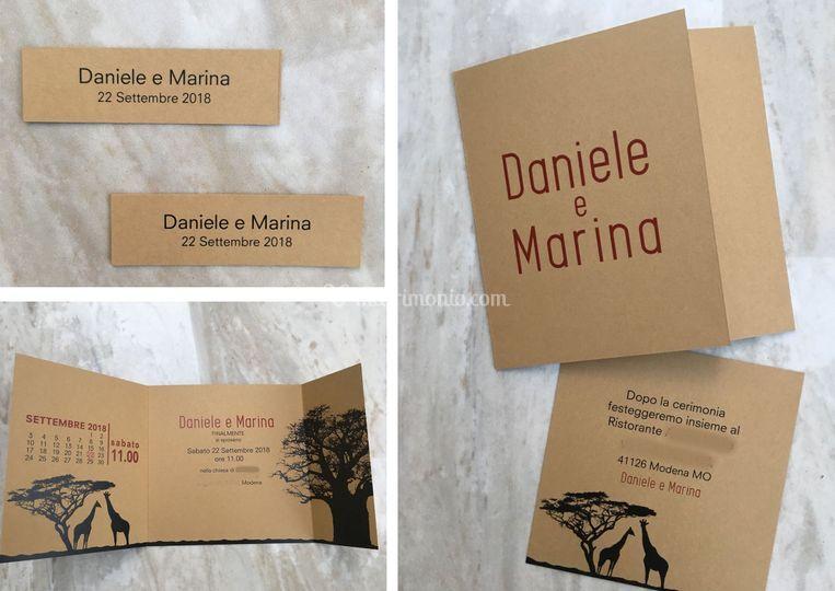 Partecipazioni Matrimonio Modena.Philia