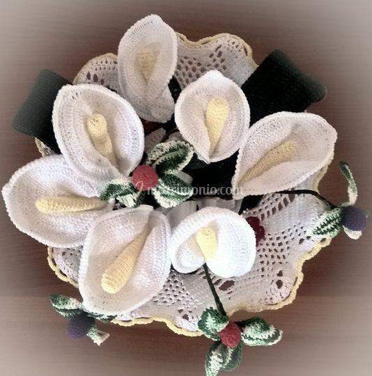 Bouquet realizzato a mano