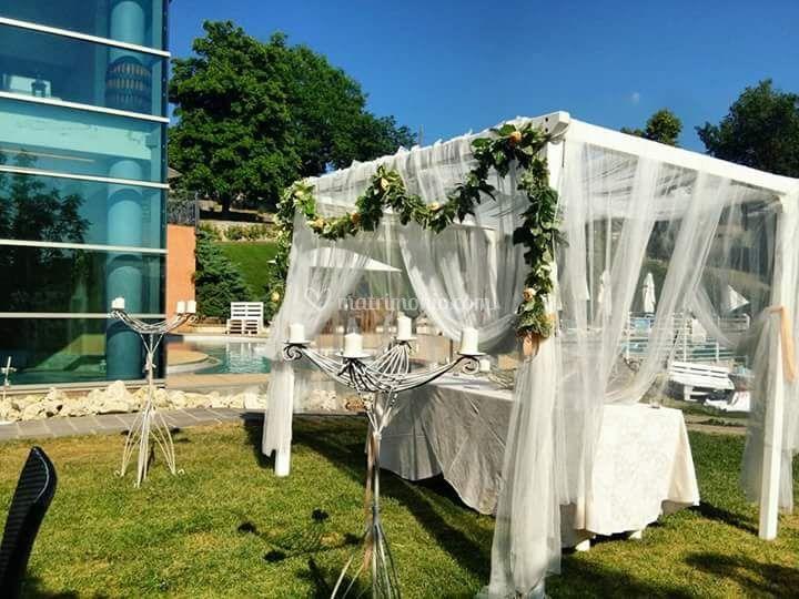 Joy planner eventi - Allestimento giardino ...