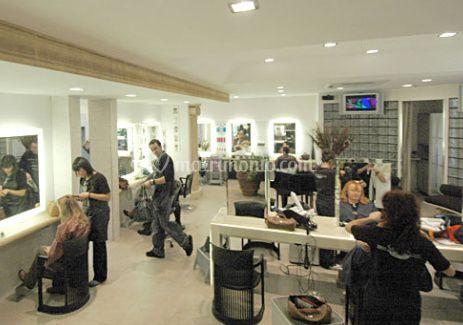 Saccucci hair group for Interni salone