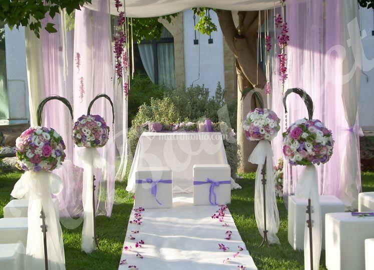Pama eventi e cerimonie for Addobbi piscina per matrimonio