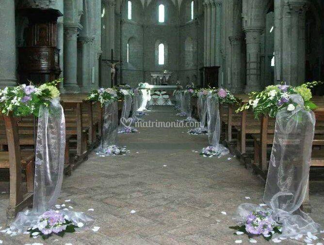 Decorazione della chiesa di il giardino fiori piante e for Decorazione giardino matrimonio