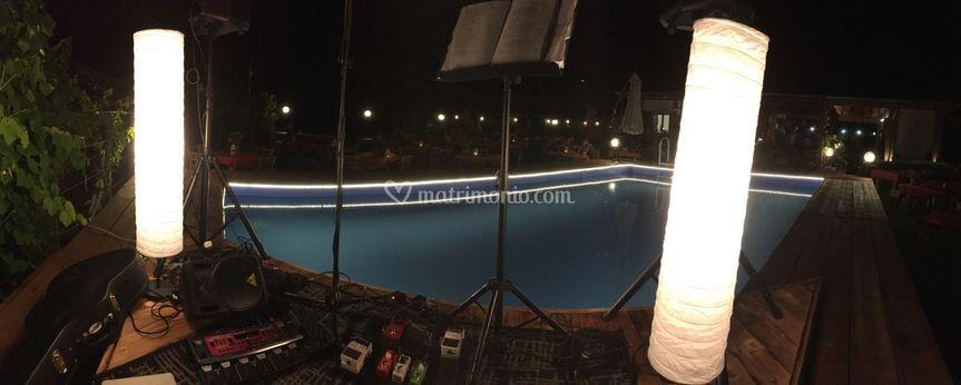 A bordo piscina!