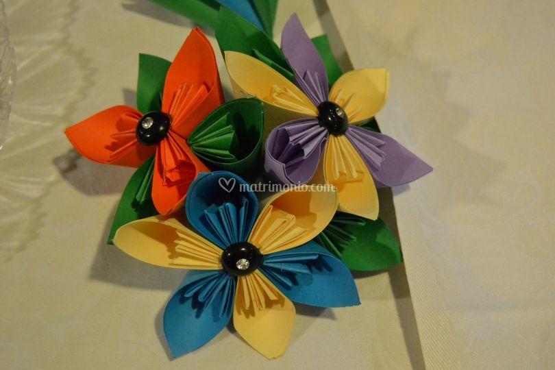 Centrotavola origami