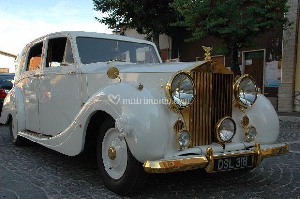 Rolls royce oro 1947 p. W . di Canestri Autonoleggi