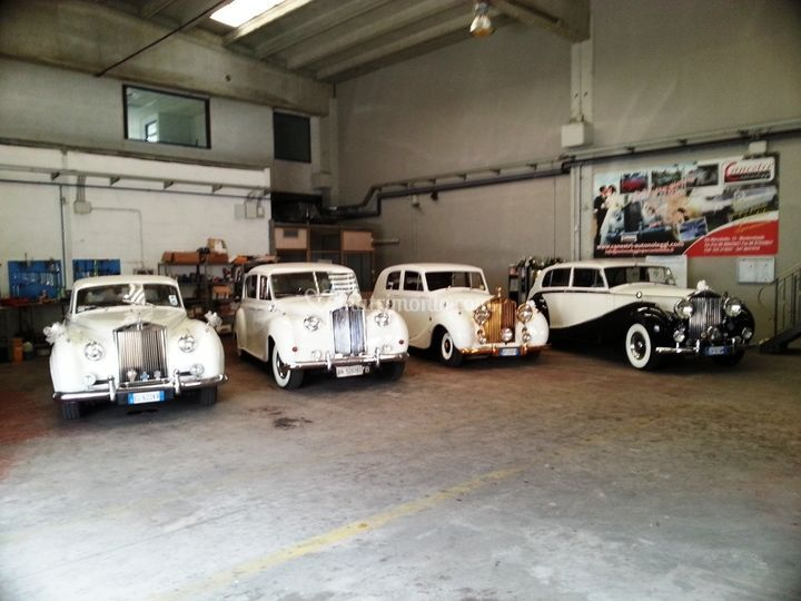 Parco auto rolls royce