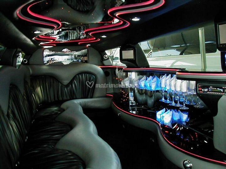 Interni chrysler limousine