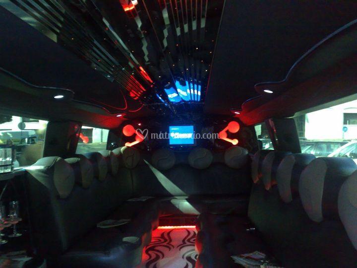 Interni hummer h2 limousine
