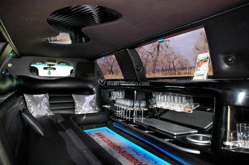 Interni lincoln limousine