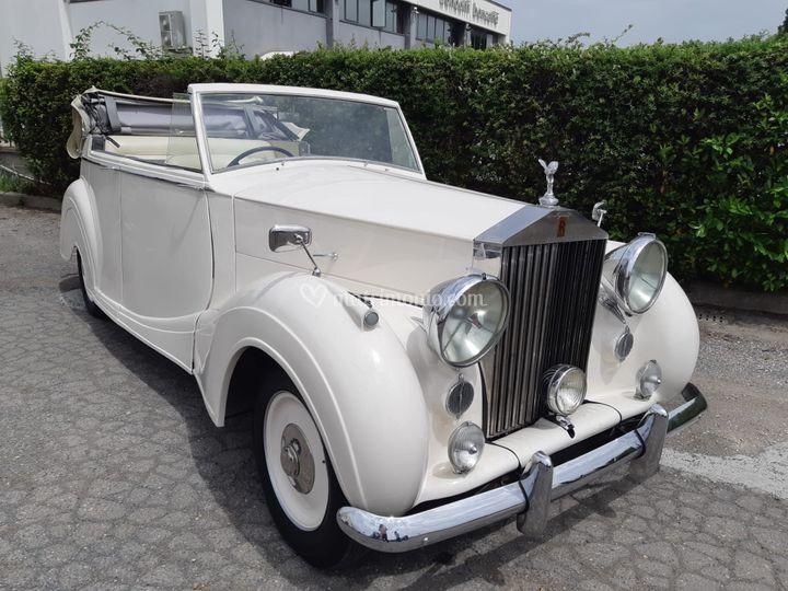 Rolls royce silver wraith cab