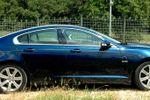 Jaguar xf new model blue