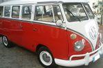 Pulmino Volkswagen Rosso