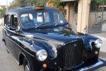Taxi cab inglese nero