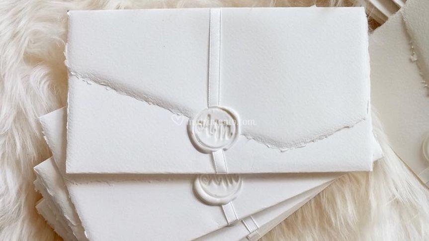 Carta amalfi com logo