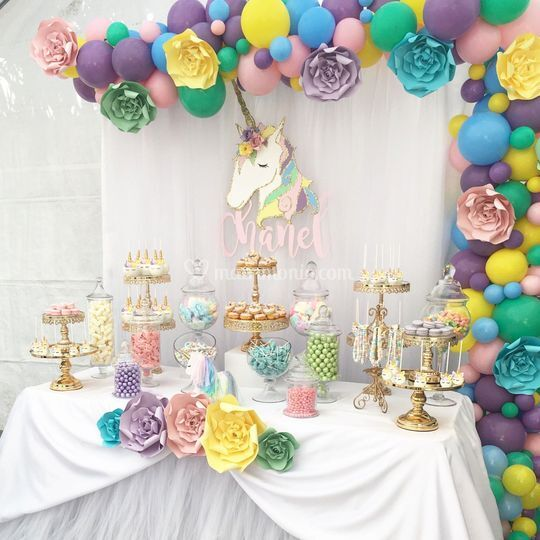 Allestimento candy table