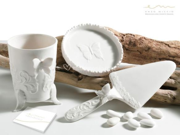 Bomboniere in ceramica