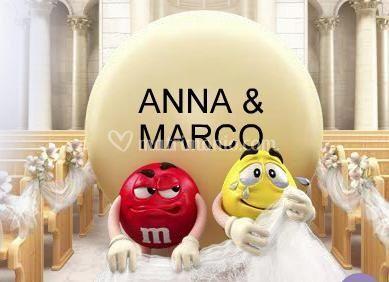 Le m&m's al vostro matrimonio