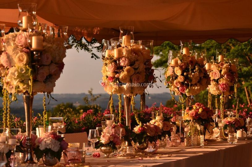 Matrimonio Country Chic Treviso : Matrimonio shabby chic di agriturismo romantico taverna di