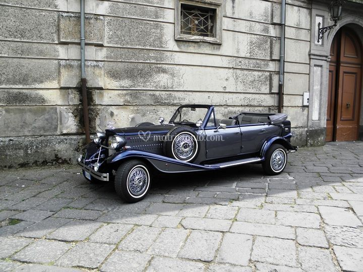 Beauford 4 porte blu-grigio