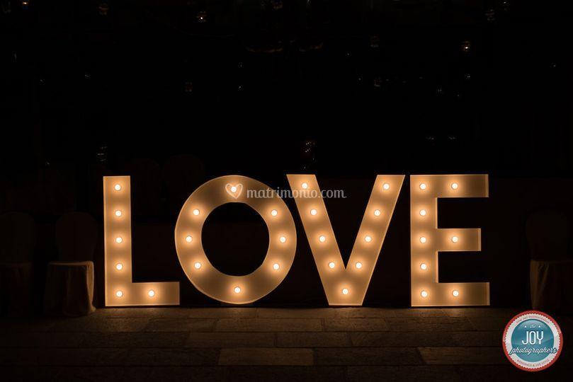 Dettagli LOVE letters