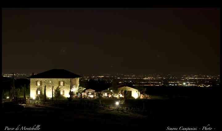 Panoramica notturna del Casale