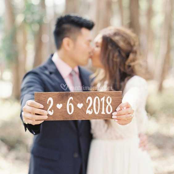 Data matrimonio - photo booth
