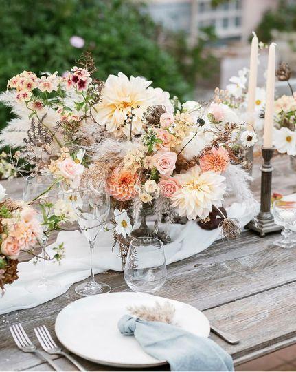 I fiori di Donatella e Giulian
