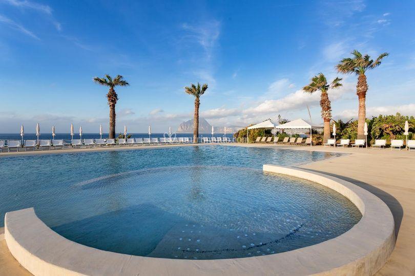 Tonnara di Bonagia - piscina