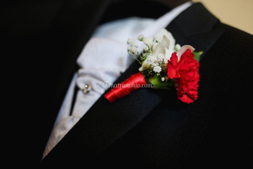 Dettagli di nozze - bottoniera