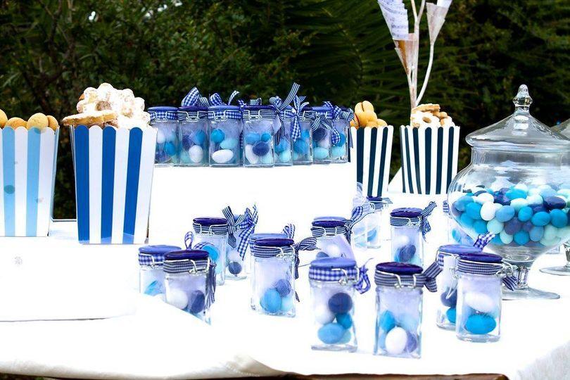 Tavolo confettata battesimo di martina canepa wedding planner